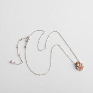 Henri Bendel Simple Fashion Gem Necklace